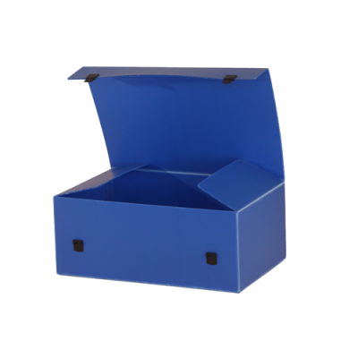 Plastkasser i Dipack bølgeplast