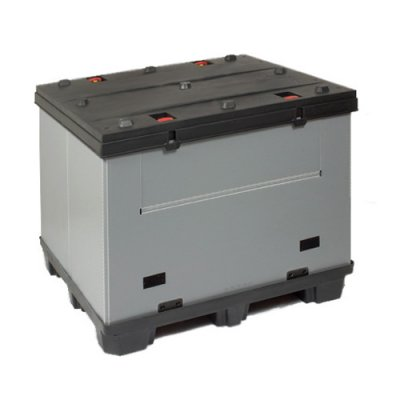 Pallecontainer med foldbart svøb - Thorbox® EP