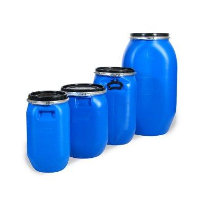 Plastfat med lock - Protec® QP
