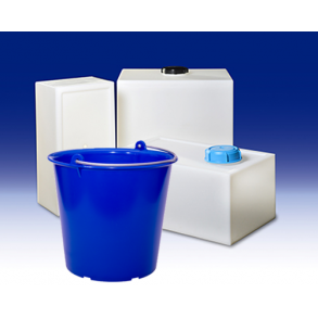 Buckets, bins and containers